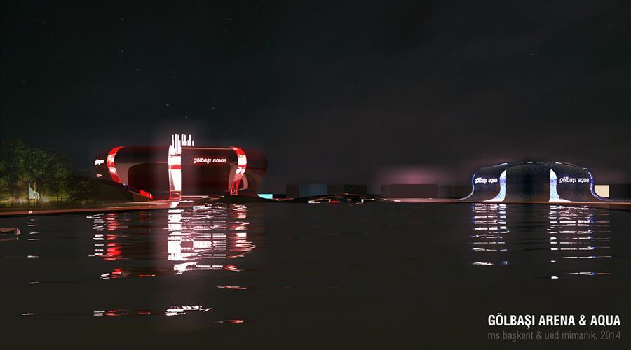 gölbaşı arena aqua gece
