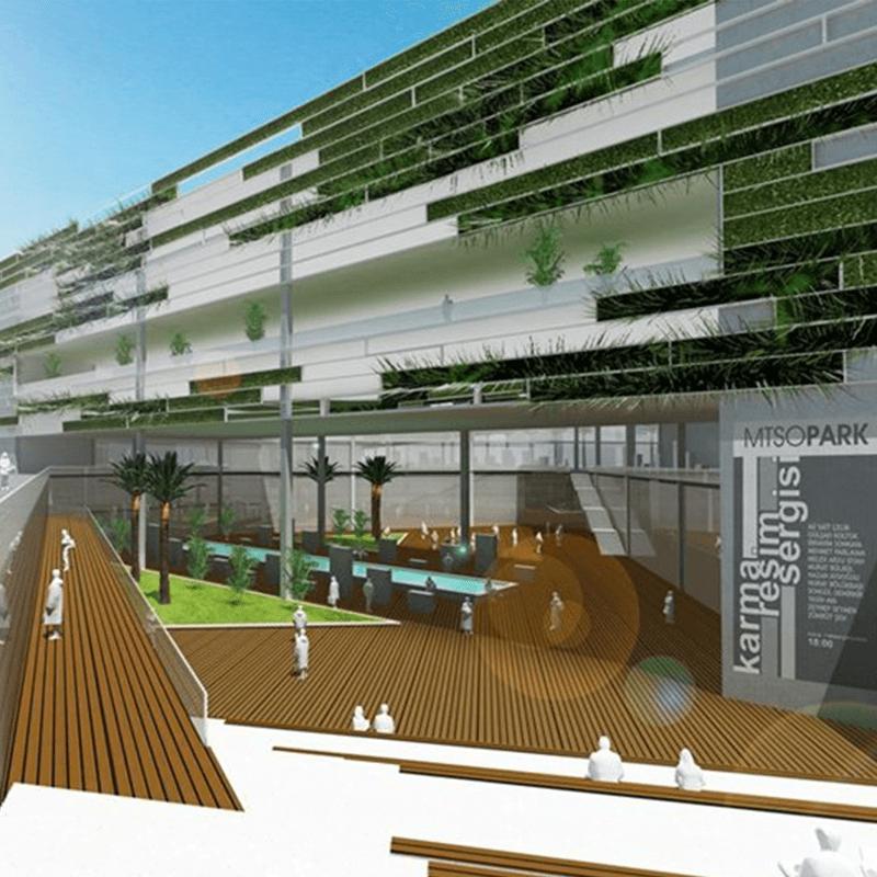 sosyal aktivite alanı tasarımı